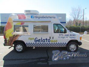 Gelato Ice Cream Van