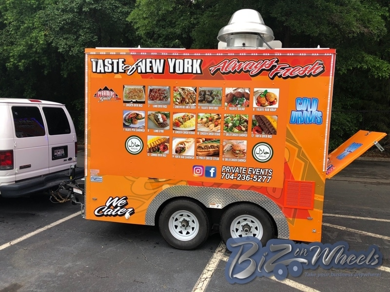 Pyramids Grill 10ft trailer