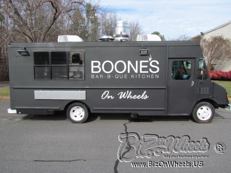 Boones BBQ Food truck
