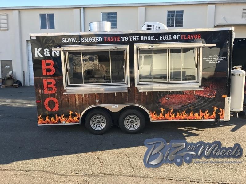 16FT BBQ Trailer