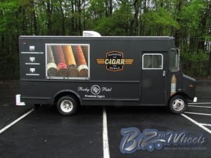 Cigar promo truck