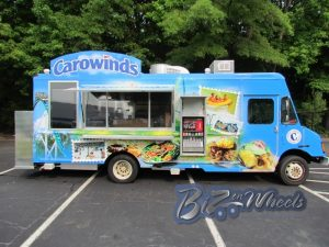Carowinds Amusement Park Food Truck