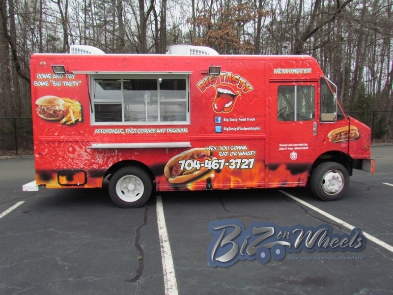 Big & Tasty Food Truck 14 Ft