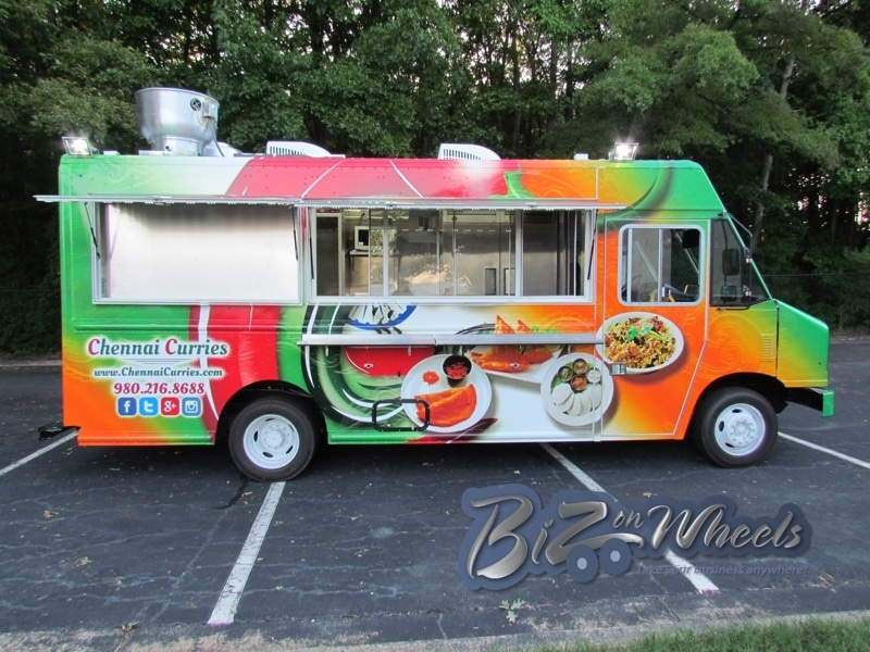 Chennai curries Indian food truck 16ft