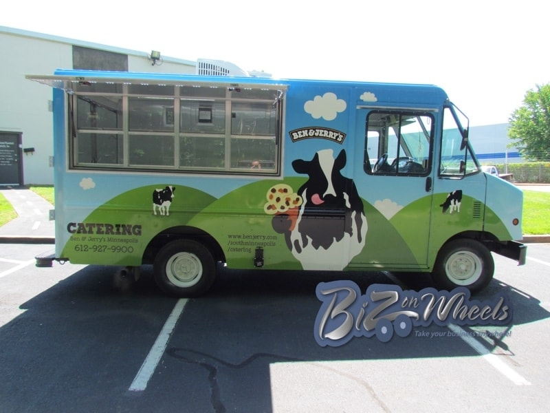 Ben and Jerry's Ice Cream Truck