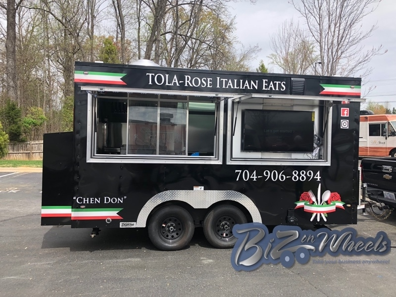 14FT TRAILER Italian cuisine