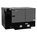 Quiet Undermount Diesel Generator 12KW (Good For up to 2 A/C Units)