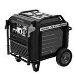 Quiet Portable Gas Generator 5.5KW (Good For up to 1 A/C Units)