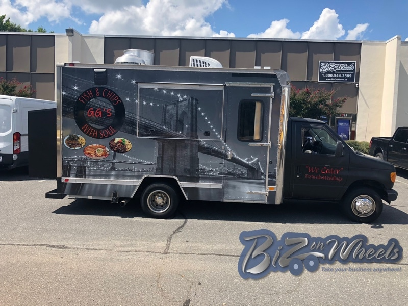 Food Truck Cutaway van 14FT  Cargo