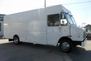 2013 Ford Step Van 34k Miles 18ft Cargo Includes 12KW Quiet Generator 2 A/C Units