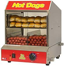 Hot dog steamer (Countertop)
