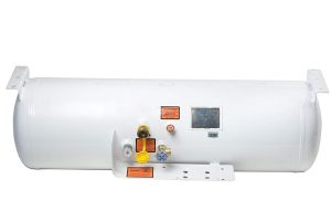 Undermount 100 LBS propane tank (For Truck)