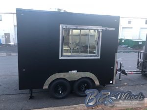10ft Long 8.5 Wide Deli Trailer