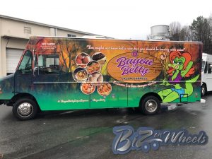 Bayou Betty Cajun Express Food truck 18ft cargo
