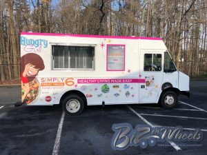 Promotional Food truck Hungry Girl 1