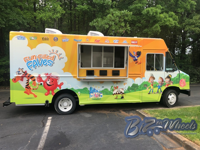 Promotional Food truck 16ft cargo