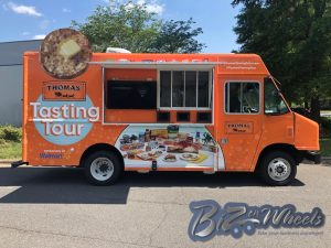 Promotional Food truck  THOMAS English Muffins