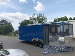 BBQ Concession Trailer With Porch 26ft Long 6ft Porch