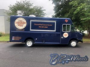 The Square Peg BBQ Food Truck 16ft New Truck