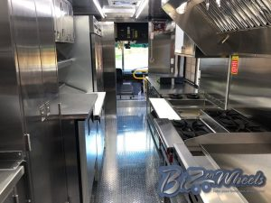 Custom Food Truck 18FT Premium  Interior Option 1