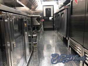 Custom Food Truck 18FT Premium  Interior Option 2