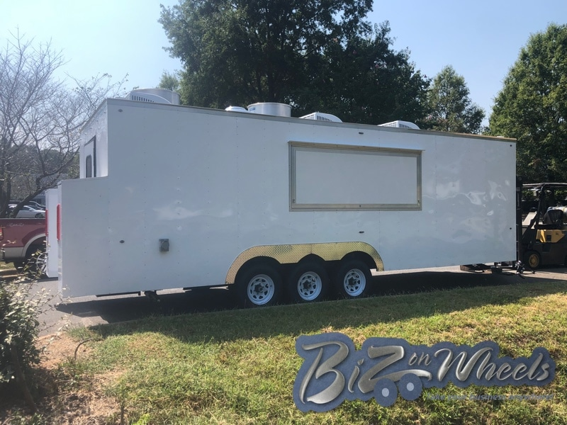 Concession Food Trailer commercial kitchen 24Ft  3 Axle