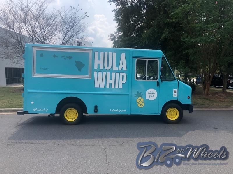 Hula Whip Soft Serve Ice Cream Truck