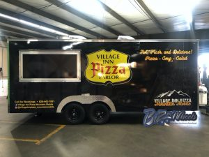 Pizza Concession Trailers  20FT