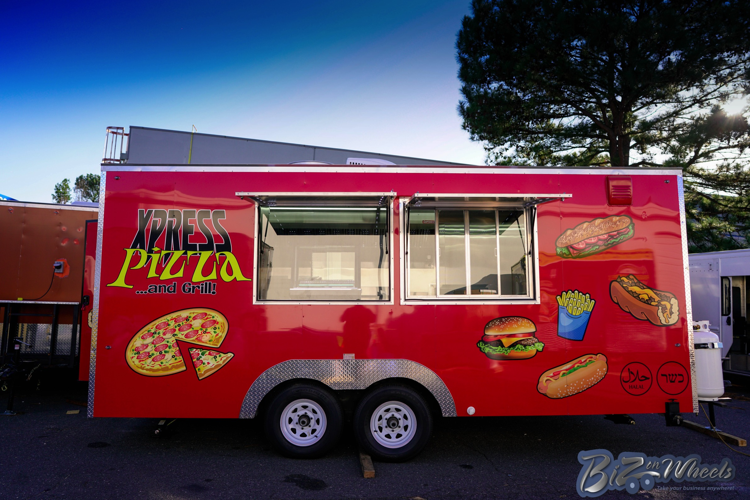 18ft Pizza And Fast Food Concession Trailer