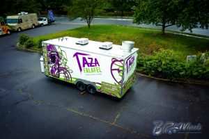 Taza Food Trailer Trailer de 20 pies