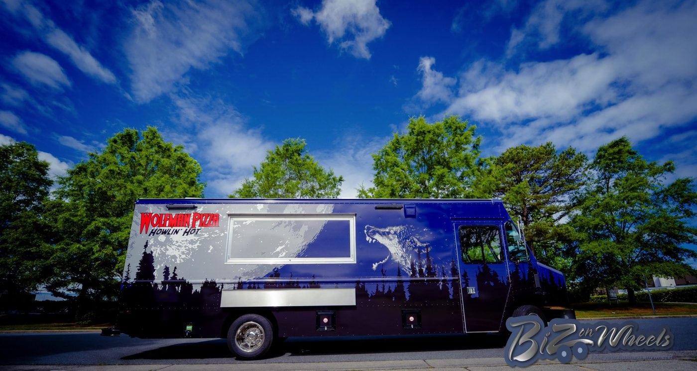 Wolfman Pizza Truck 20ft New Step Van
