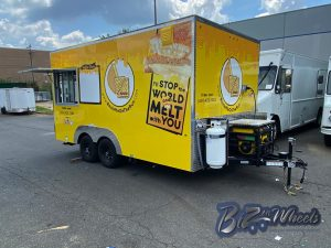 16ft Concession Cheese Trailer