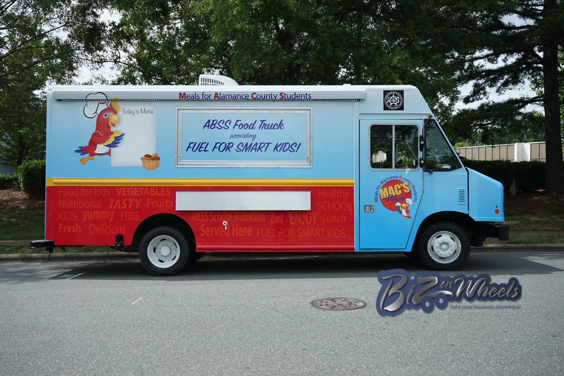 Alamance-Burlington School System Food truck