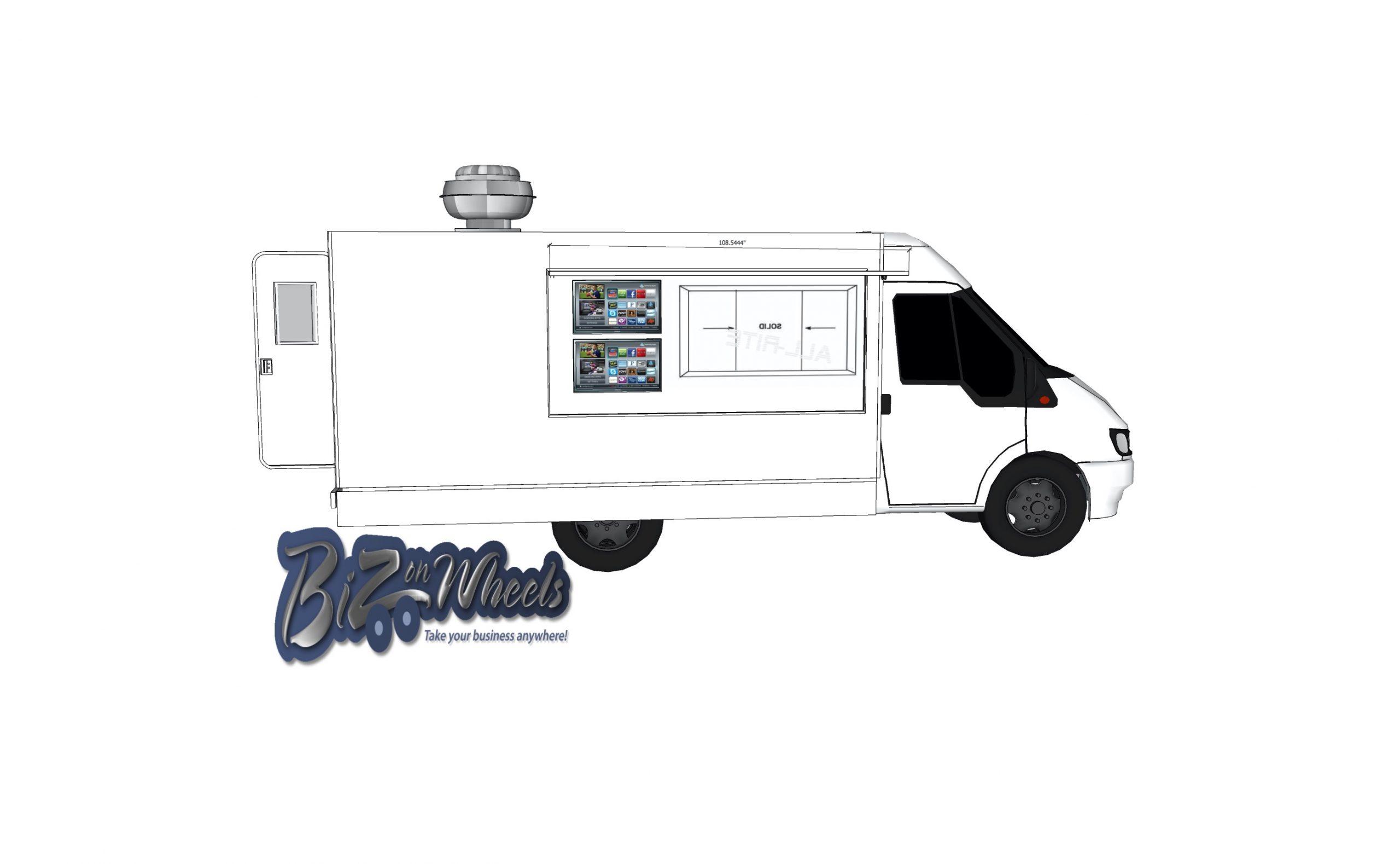 NEW 2020 Cutaway Food Van