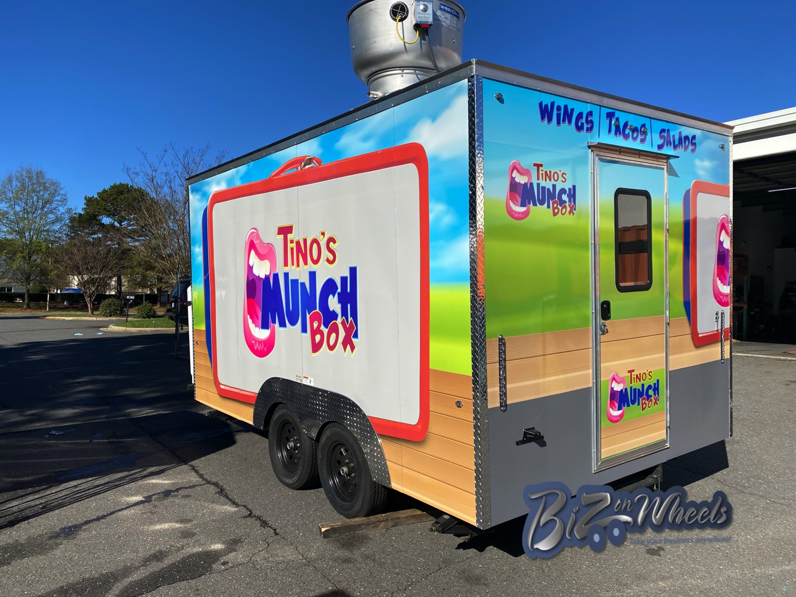 Munch Box 14Ft Concession trailer