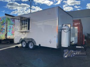 14Ft Concession Trailer With Onan Generator
