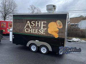 Ashe County Cheese 14ft Food Trailer