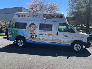 Ice Cream Van with Shave Ice  2012