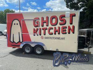 Ghost Kitchen 16ft Food Trailer