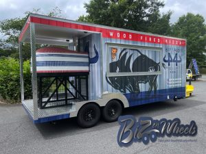 Buffalo 44 Wood Fired Pizza Concession Trailer