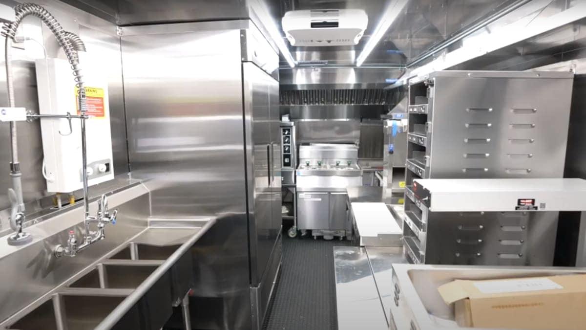 Custom Food Truck Interior