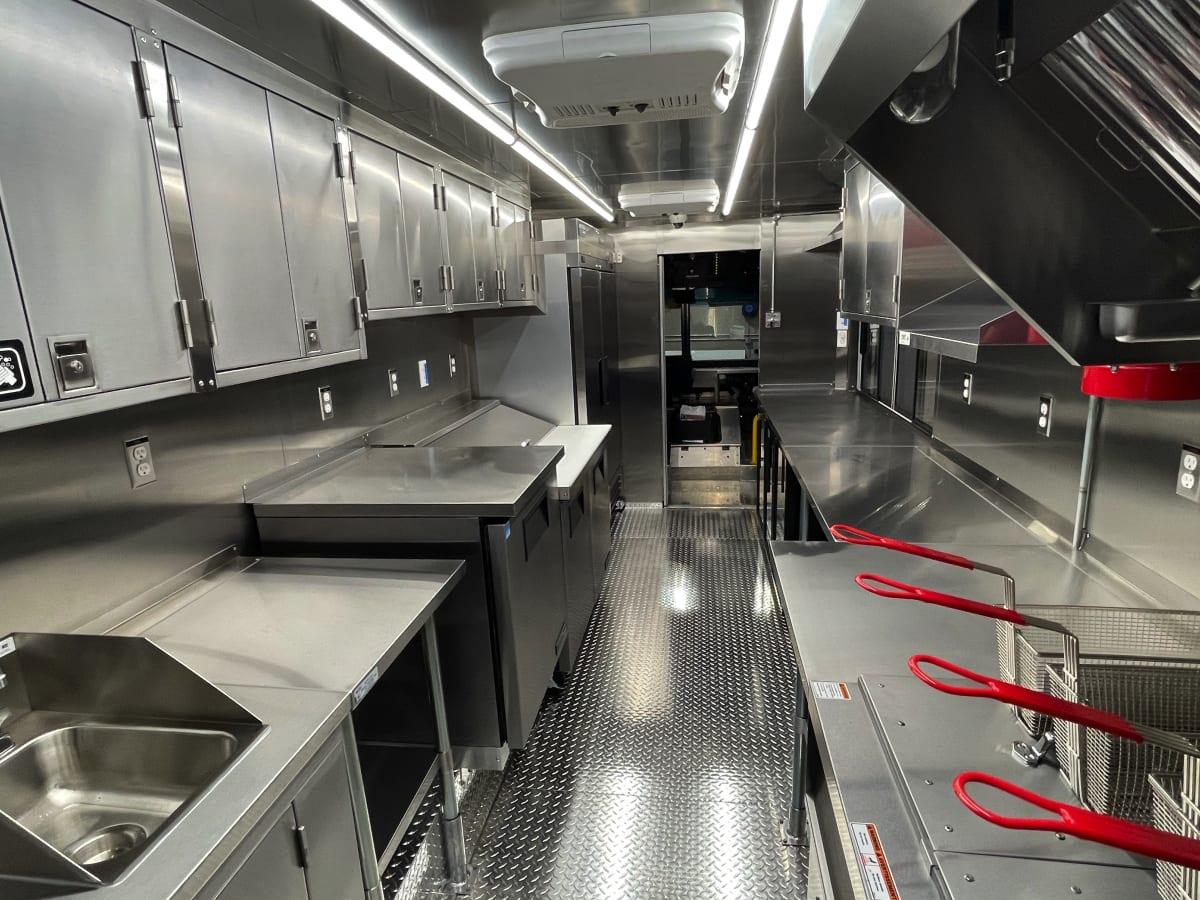 Food Truck kitchen Interior