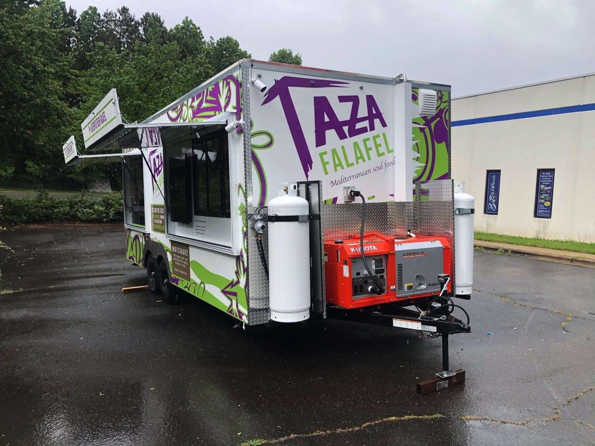 Taza Falafel Food Trailer